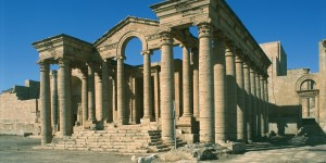 UNSPECIFIED - NOVEMBER 01:  Iraq - Hatra - Marn Temple, 80 a.c.  (Photo by De Agostini Picture Library/De Agostini/Getty Images)